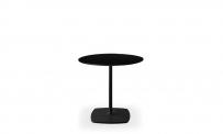 Tisch style rund 70 schwarz/schwarz
