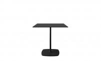 Tisch style 80x80 schwarz/schwarz