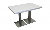Tisch MARSEILLE II weiß HPL