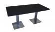 Tisch ATLANTA 160x80 schwarz