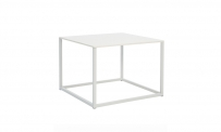 Loungetisch 59-59 weiß