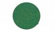 Sitzkissen Filz rund 32 grün