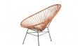 ACAPULCO Chair braun Leder